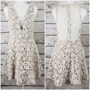 Tobi Crochet Lace Dress